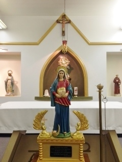 Mary Ark Of The New Covenant Visits St Damien Of Molokai